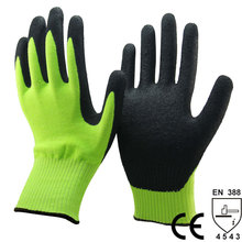NMSAFETY sandy nitrile cut resistant level 5 work Protect gloves