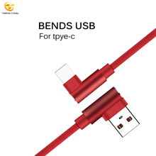 Nylon Mobile phone data line charging for iphone usb cable
