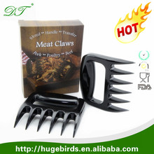 Heat Resistance pulled pork shreddder cooking meat claws Original Bear Paw Meat Handlers for Bbq