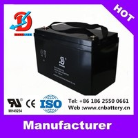 MSDS ups battery 12v 100ah for solar panels