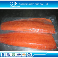 Seafood Export Vacuum Pack Iqf Chum Salmon Portion