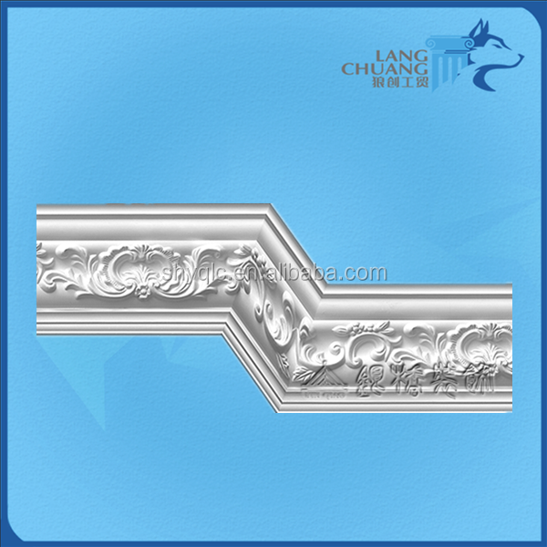 Green Material Interior Home Decoration Cornice Types