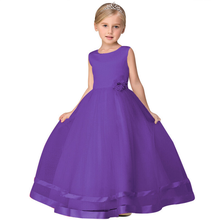 Girls Princess Birthday Dress Colorful Dress For Kids Girl Party Wear