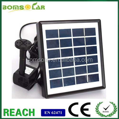 High head brushless Solar Fountain /Solar foutain pump for widely used