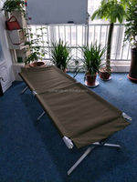 Simple and easy hike folding bed for military used