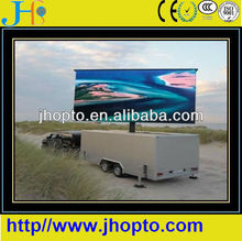 vivid image high resolution 7500nits movable led display screens