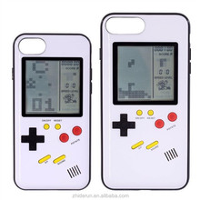 Retro game phone case tetris gameboy protective cover case for iphone