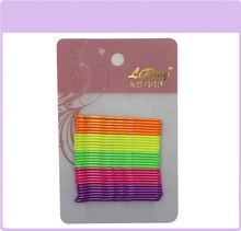 Colourful Metal Painting Fexible Bulk Bobby Pin Hair Accessory