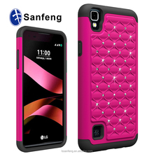 5.3 inch pc tpu combo phone case for LG X Style for wholesale