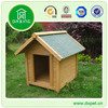 Outdoor Wooden Dog Kennel With Triangle Roof DXDH004