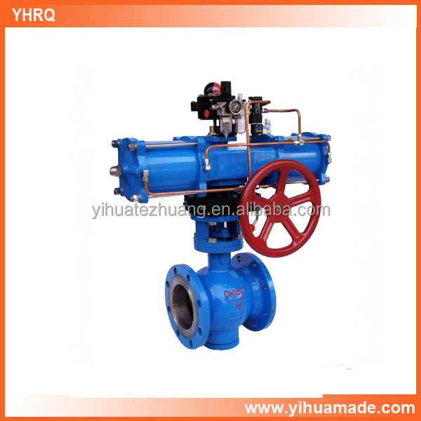 factory price good quality flange V type ball valve