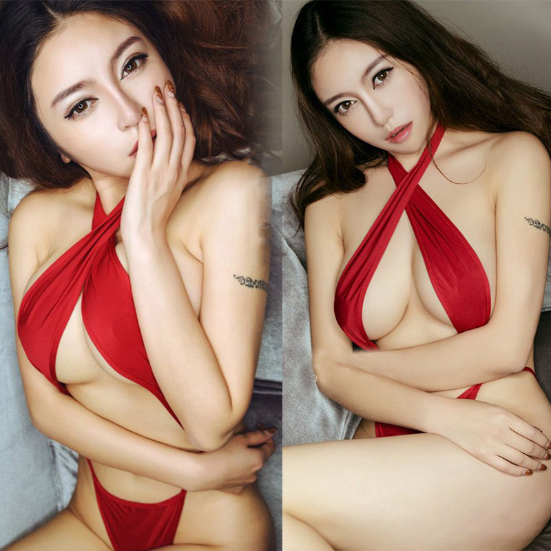 China Wholesale Hot Sales Lastest Styles Fashion Ladies Girls Short Slik Sexy Thermal Bridal Women Nighty Red Sex Underwear