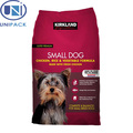 China supplier new food grade bag dog food packaging design