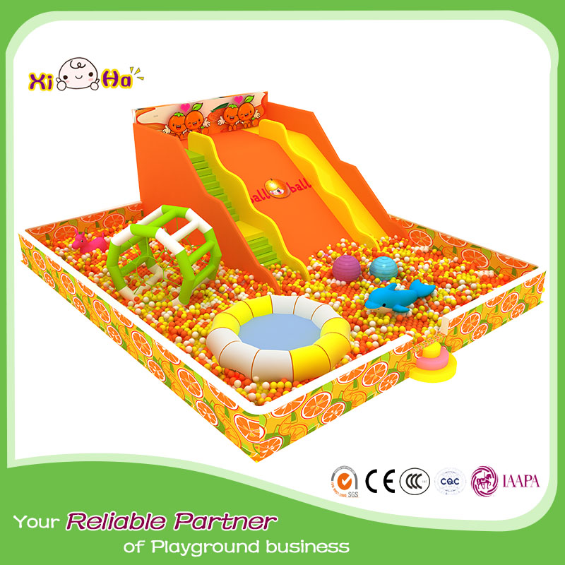 Indoor playground equipment soft play toys corlorful ball pool pit