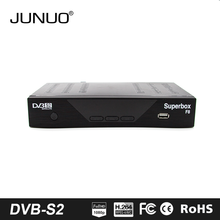JUNUO Original Freesat V7 Max Dvb-s2 Satellite Tv Receiver Usb Wifi Support 1080p Full Hd Powervu Biss Key Youporn Set Top box