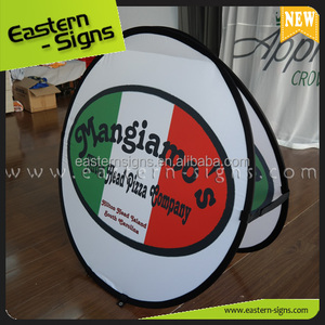 Spring Steel Vivid Image Fabric Pop Up A Banner