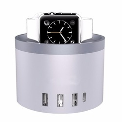 Usb wall charger 30W 5 usb Port usb Charging Station for iphone ipad samsung smartphone apple watch Fitbit Watch