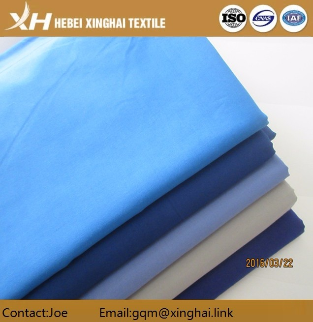 solid dyed cotton polo shirts 65% polyester 35% fabric