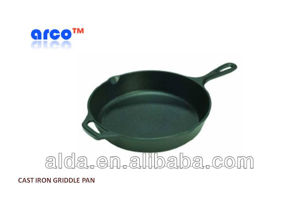 Cast iron cookware with Durable porcelain enameled finish