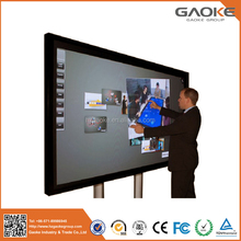 High definition monitor with VGA USB LCD LED touch screen display