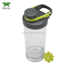 Bottle Gym Protein Shake Shaker Ball Mixer Pill Storage with inserted mixing ball