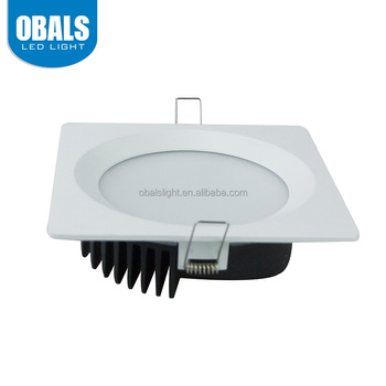 Obals die-casting aluminum recessed downlight intumescent cover ul listed led down lights