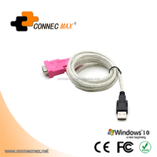 USB 2.0 to RS-232 DB9 Converter Cable Serial (9-Pin) Adapter