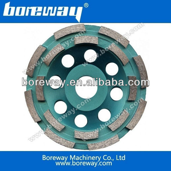 High quality 5'' 125mm diamond abrasive cup wheel