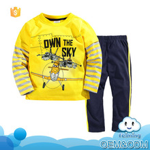 2016 Wholesale guangzhou baby clothes baby boy body suit casual cheap cool children clothing set