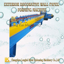 Exterior Decorative Wall Panel Forming Machinery