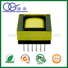 EPC19 horizontal transformer with Pin5+6 ,ei 33 transformer