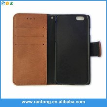 For iphone 6 case leather wallet,Money clip card hold wallet leather case for iphone 6