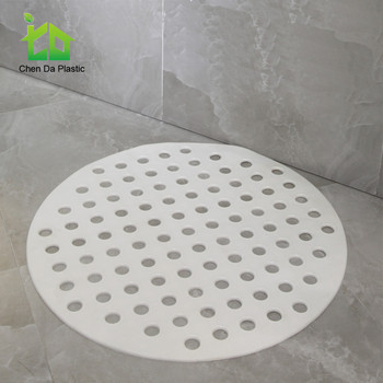 Circle custom size bath mat anti slip mat for old man and kids