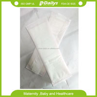 stocklot disposable sterilize maternity sanitary napkins/towels/pads underwear /panties in six pics per pack