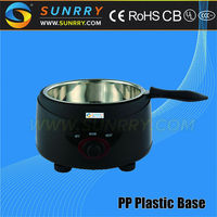 Commercial chocolate melting pot with PP plastic base chocolate melters pot (SUNRRY SY-CL1A)
