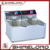 2017 Hot Sale Electric Kitchen Equipments 2-Tank and 2-Basket Fryer Industrial Fryer