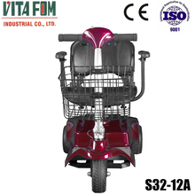 Portable 3 wheel Electric Motorcycle / Electric Vehicle