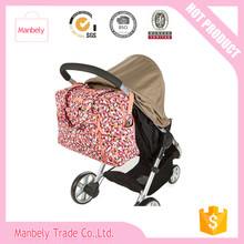wholesale quiltied stroller pad canvas diaper change bag hot mothercare products