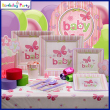 Baby girl birthday Party Supplies wholesale for kids