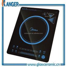 Glass-ceramic cooker plate the induction cooker parts