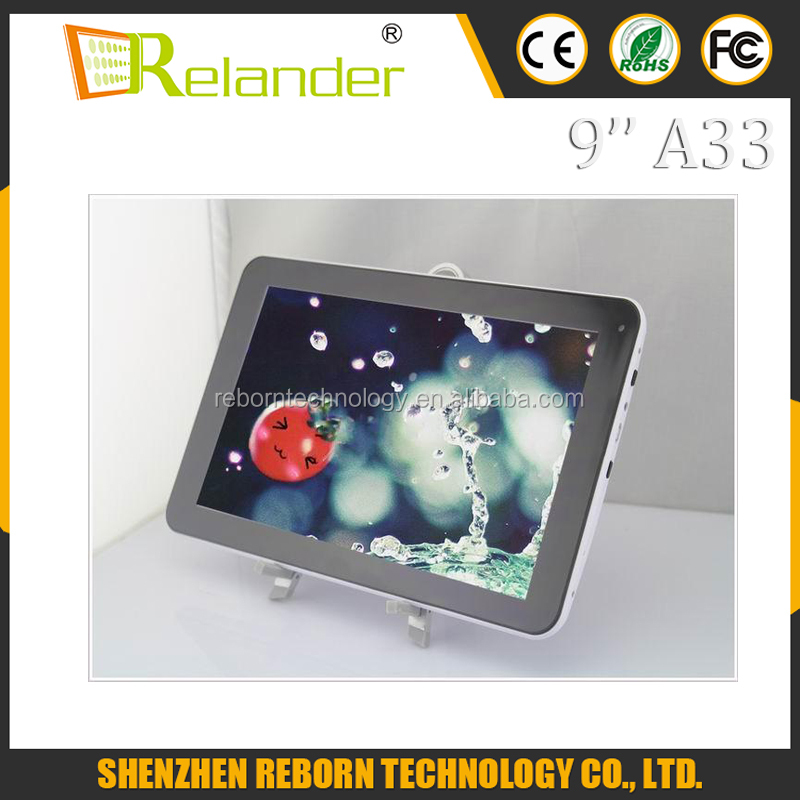 High Quality Android 4.4 Tablet PC 9 inch Q99 Q88 Allwinner A33 Quad Core Cheap Tablets Bluetooth Double Camera