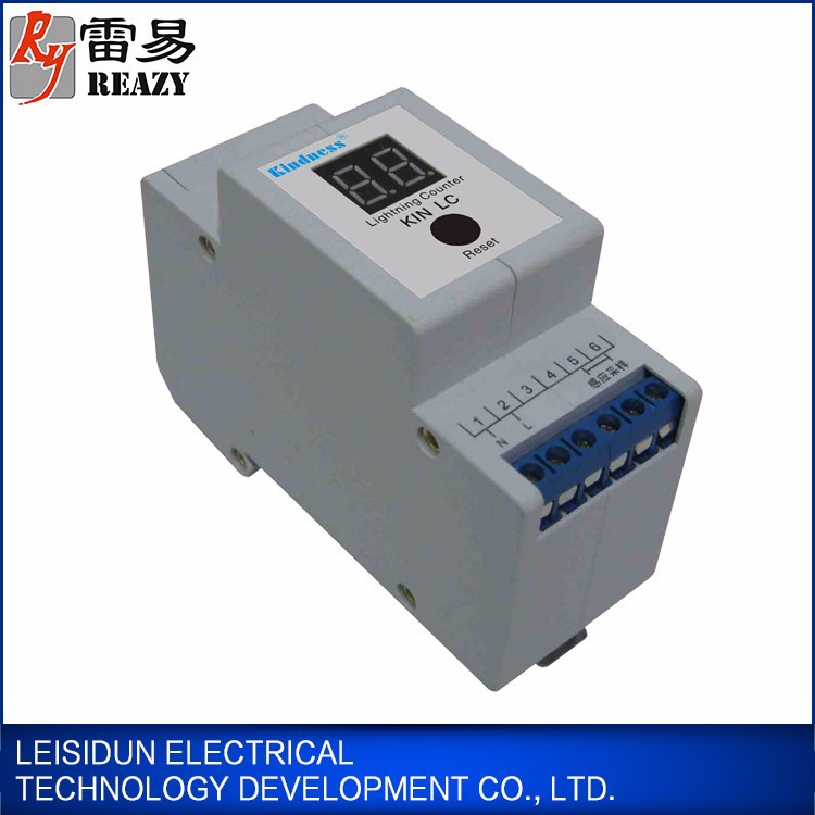 Easy to install lightning protection counter from Guangzhou supplier