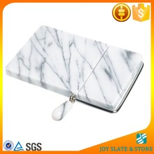 Natural Marble Cheese Knife Board/Slicer/Cutter with Customized Finish