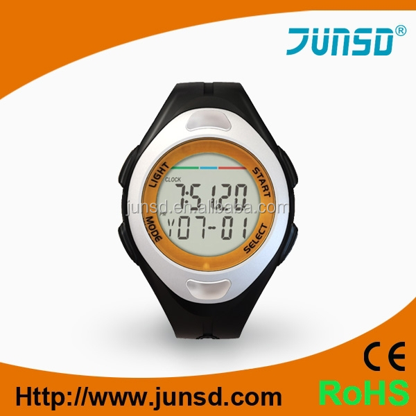 wrist pedometer With pusle JS-712A