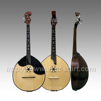 Handcrafted Domra Russian Guitar Musical Instrument All Solid Dobro