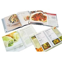 2015 Guangzhou customized design hardcover cook books photo books printing