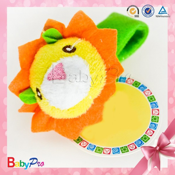 Customized Lion Soft Toy Baby Bed Bell Cloth Baby Crochet Rattle