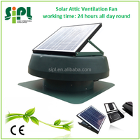 Adjustable Solar Panel Powered 14 Inch Air Circulation Home Fans 35 Watt with Battery System