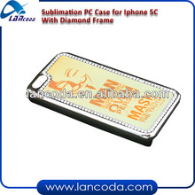 Sublimation Crystal Bling Case for iPhone5C