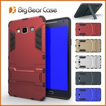 Two Piece Combo Hybrid Protective Cell Phone Case for Samsung A7